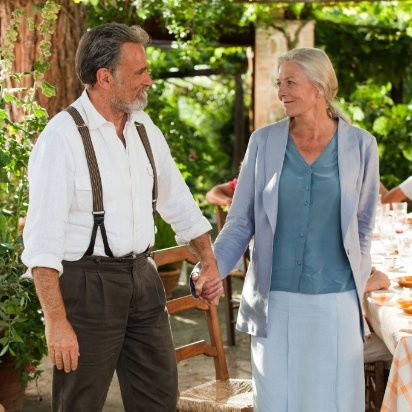 Claire (Vanessa Redgrave) and Lorenzo (Franco Nero) ~ Letters To Juliet