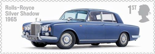 August: The Silver Shadow, an icon of 60s design, is honoured with inclusion in the Royal Mail's British Auto Legends Thoroughbreds Stamp Set, embodying 'the epitome of automotive elegance'.