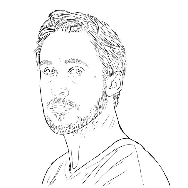 i love ryan gosling coloring bookmel coloring pages