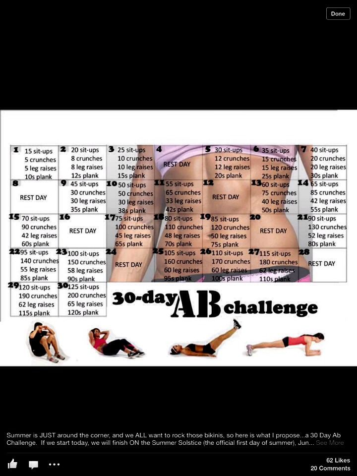 30 Day Ab Challenge- I'm on day 20! Restarting Dec 1st with the arm and squat challenge again- results results! Healthy diet!