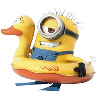 Swimming Minion (: