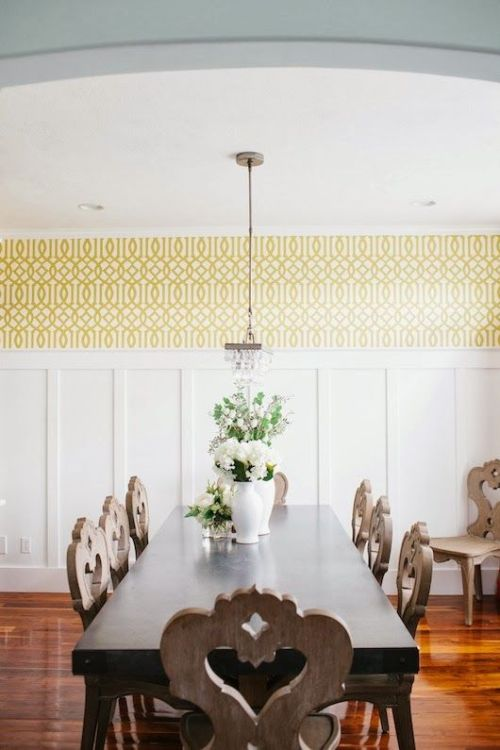 Imperial Trellis Stencil Inspiration | Mrs. Fancee