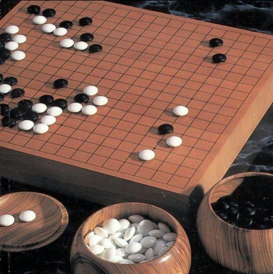 Given the Heian-era interest in many things Chinese, it should not be surprising that Go/weiqi, the ancient strategy board game, was popular among the elite classes. References to it are found both in fiction (e.g., The Tale of Genji) and non-fiction (e.g., The Pillow Book).