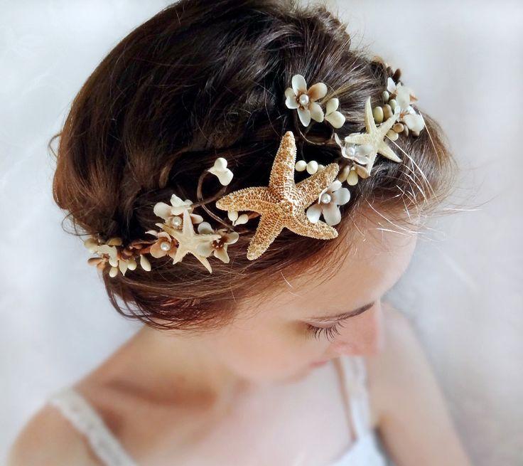 Seashell Headpiece Bridal Headband Beach Wedding