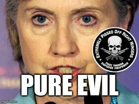 Image result for evil clintons