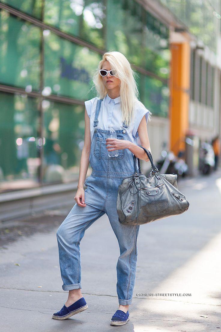 overalls street style
