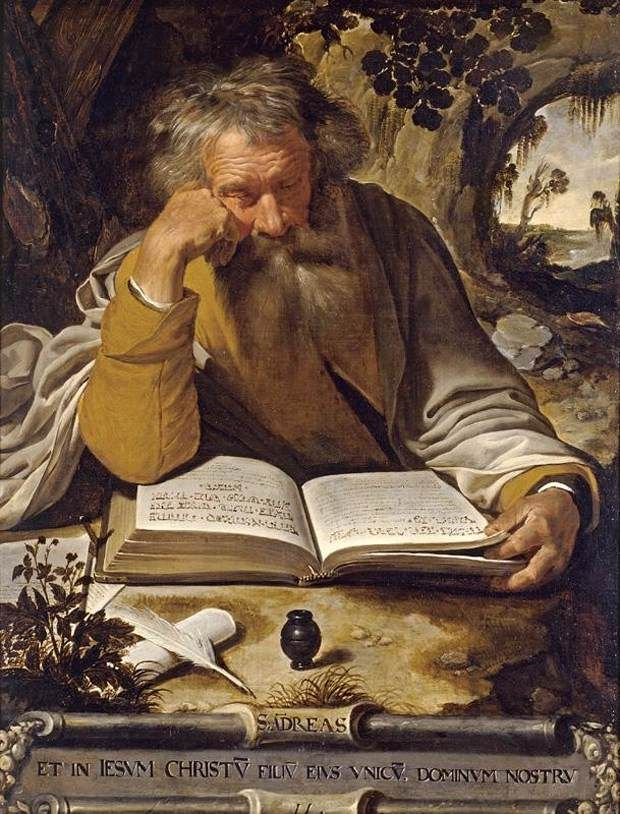 Artus Wolffort (Flemish, 1581-1641), Saint Andrew