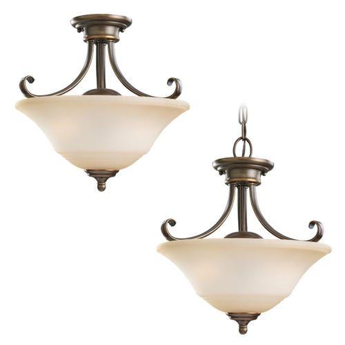 Menards Lighting Fixtures Kitchen Light Russet