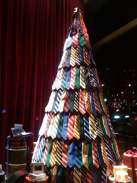 tree with ties by • Eliane •, via Flickr