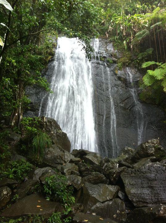 La Coca Falls Puerto Rico Tropical Paradise Pinterest