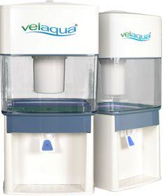 Velara Velaqua Portable alkaline water enrichment system uses no electricity