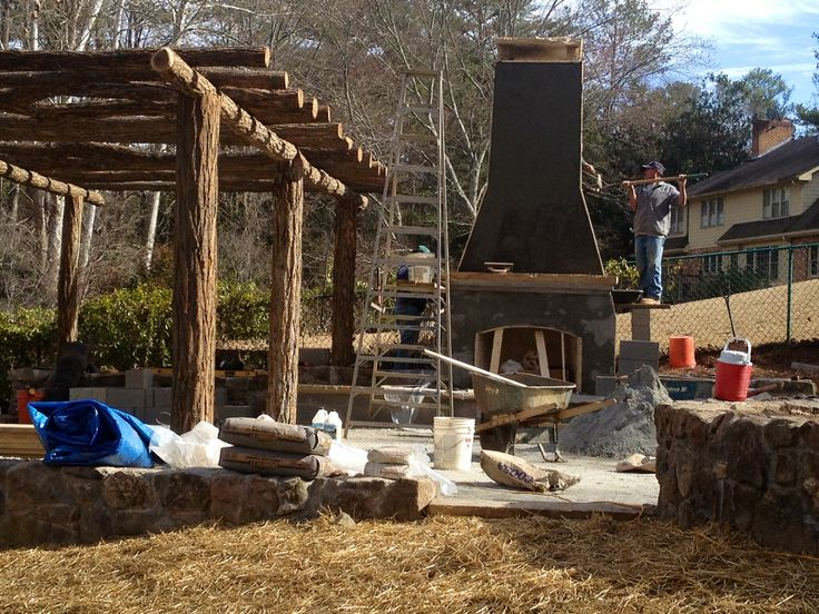 Portland coat | Build your own outdoor fireplace | Pinterest on Building Your Own Outdoor Fireplace id=61585