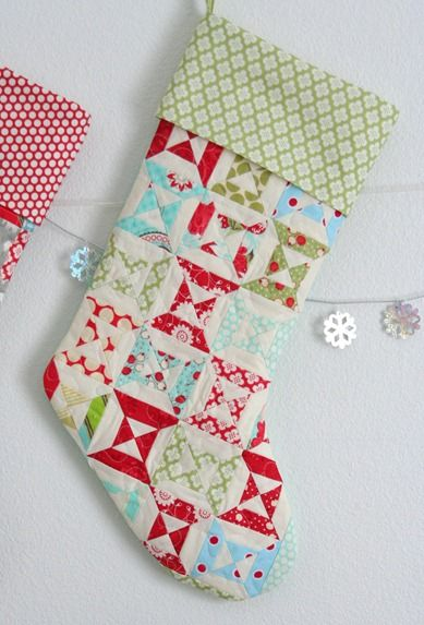Lined Stocking Tutorial.