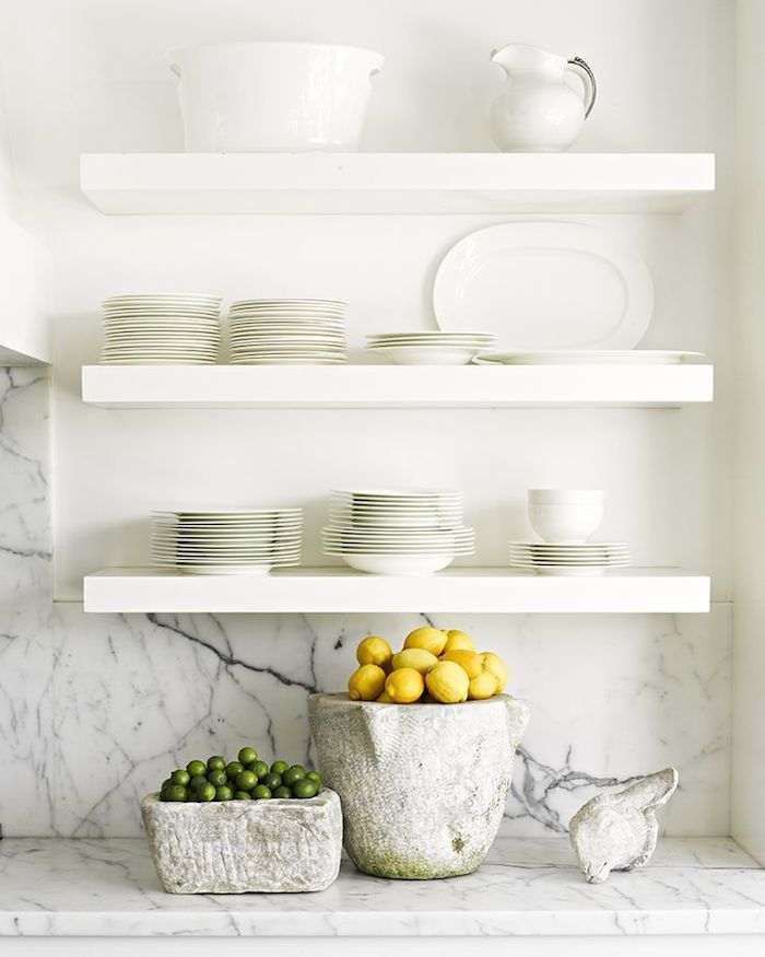 floating kitchen shelves diy diy pinterest on kitchen floating shelves id=67105