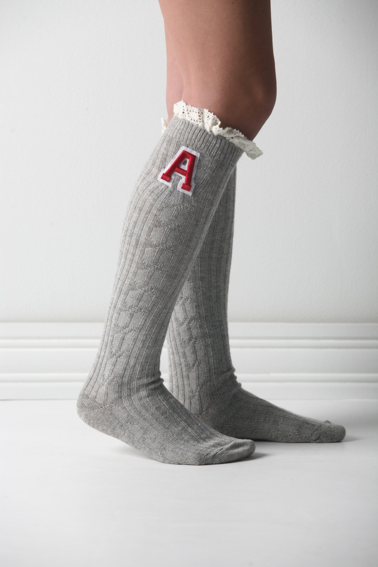 Customized Spirit Wear Knee Socks