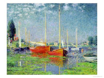 Argenteuil by Monet