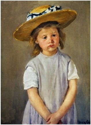 Free Do It Yourself Oil Portrait Lessons - Learn how to create your own canvas portraits by following online demonstrations by top artists. ( Painting: Mary Cassatt, Art.com )