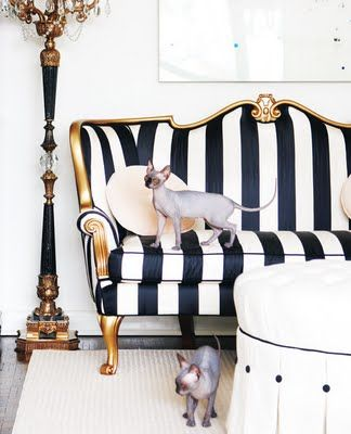 this type fabric on the loveseat that I could tuck around the corner where the mirrored chest is?