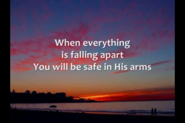 Safe In His Arms Quotes. QuotesGram