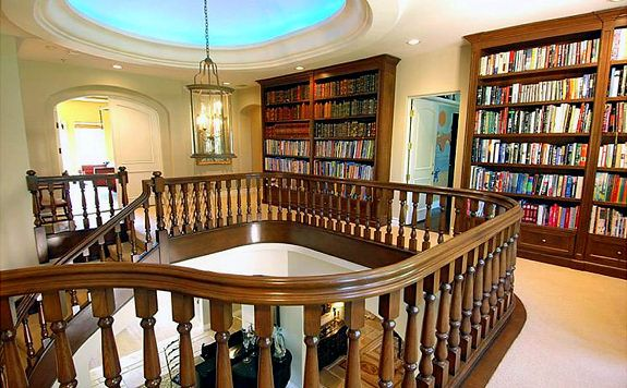 Paris Hilton's library--For more book fun, follow us on Pinterest = www.pinterest.com/booktasticfun and Facebook = www.facebook.com/booktasticfun