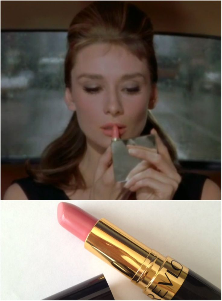"""""""Hand me my purse, will you, darling? A girl can't read that sort of thing without her lipstick.""""~Revlon's """"Pink in the Afternoon"""" is a perfect dupe for this lipstick color."""