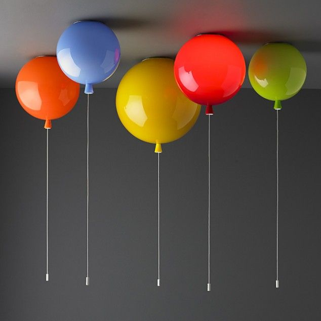 "This collection of colorful lamps designed like balloons is called ""Memory"" for a simple reason – when you see it you will remember to childhood memories. The ""Memory"" collection of lamps is designed by Boris Klimek and the lamps are looks like real balloons. Because of that colorful balloon designs, the collection remember us to our childhood."