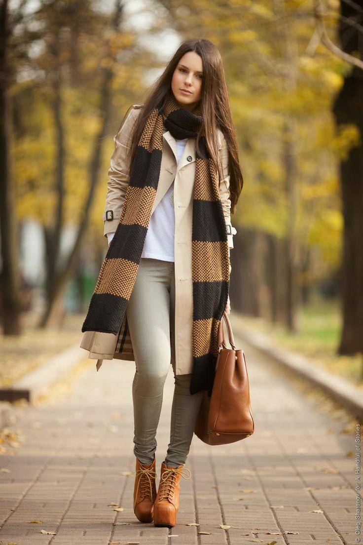 Striped Zara long scarf - beautiful