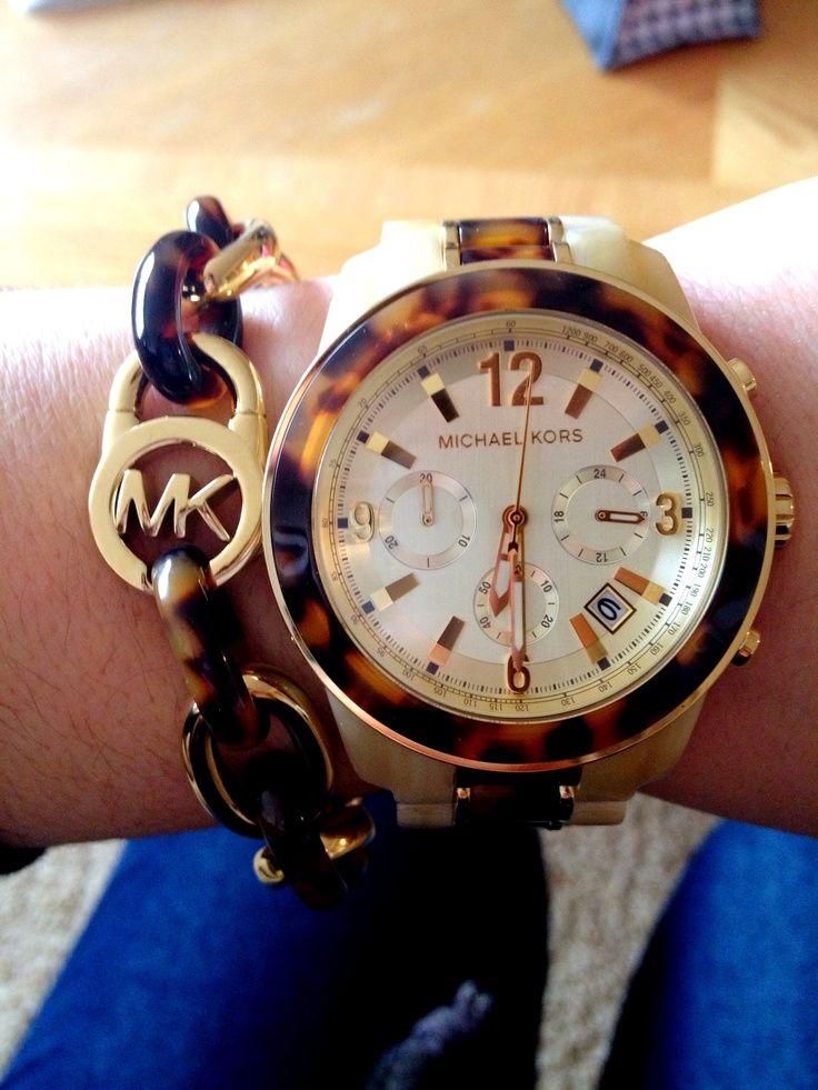 Michael Kors Watch and Bracelets. OMG.