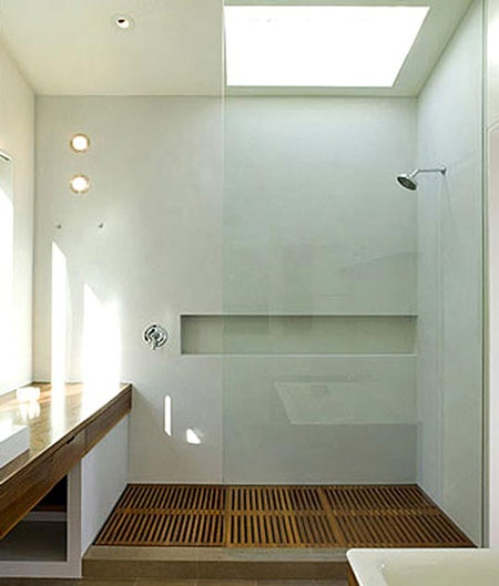 Light & minimal bathroom # Pinterest++ for iPad #