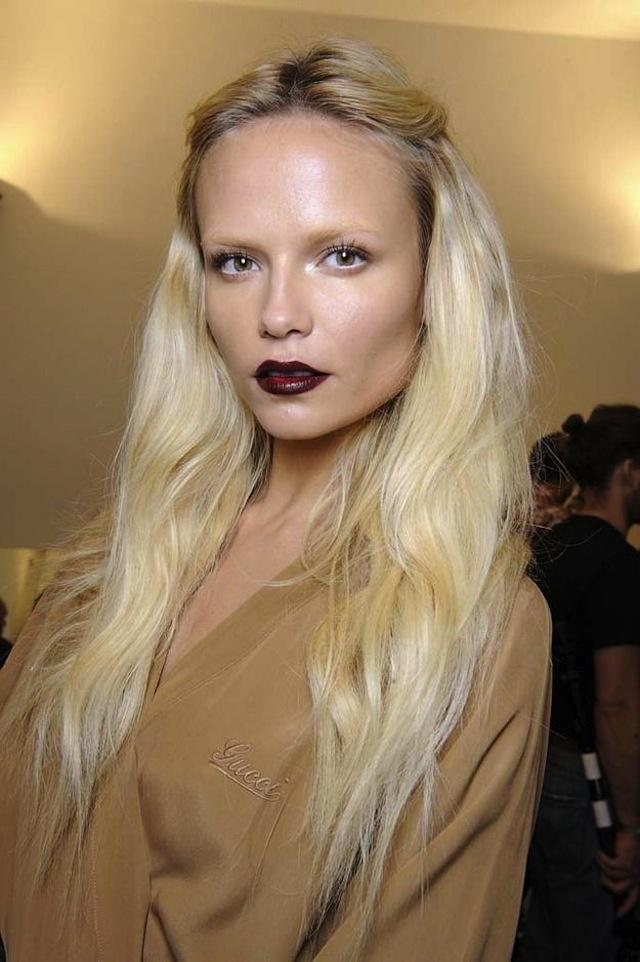 love this vampy lipstick