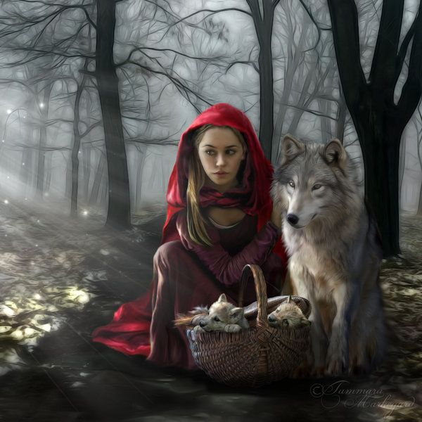 Enchantment Of the Wolf by Tammara.deviantart.com