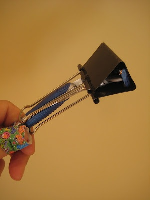 protector cuchilla afeitar casero