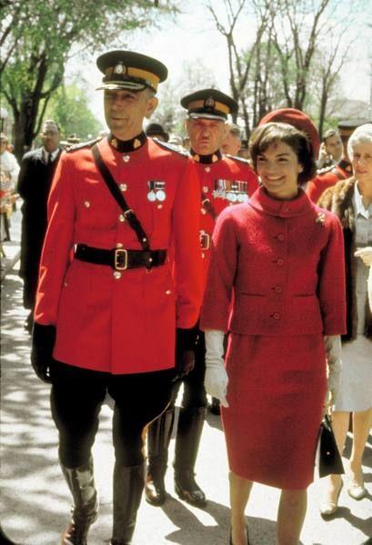 Jackie Kennedy visits Ottawa, 1961