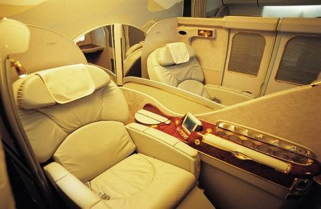 Image result for fly first class