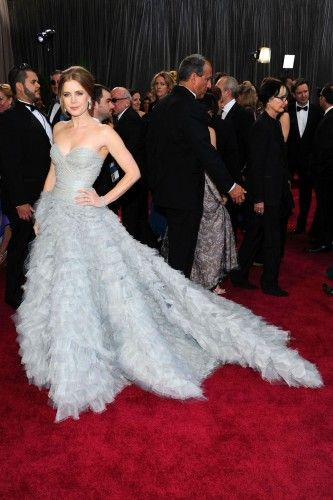 Amy Adams in @OscarPRGirl at the 2013 Academy Awards