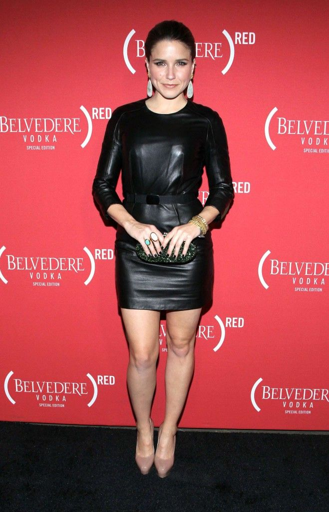 Celebrities love leather dress
