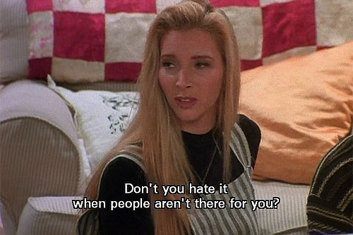 those moments when phoebe is suddenly profound