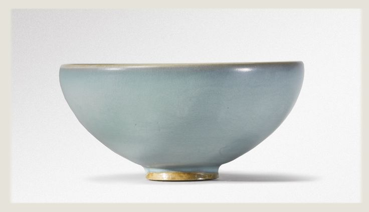 A fine 'Sky Blue'  'jun' bowl, Song-Jin Dynasty