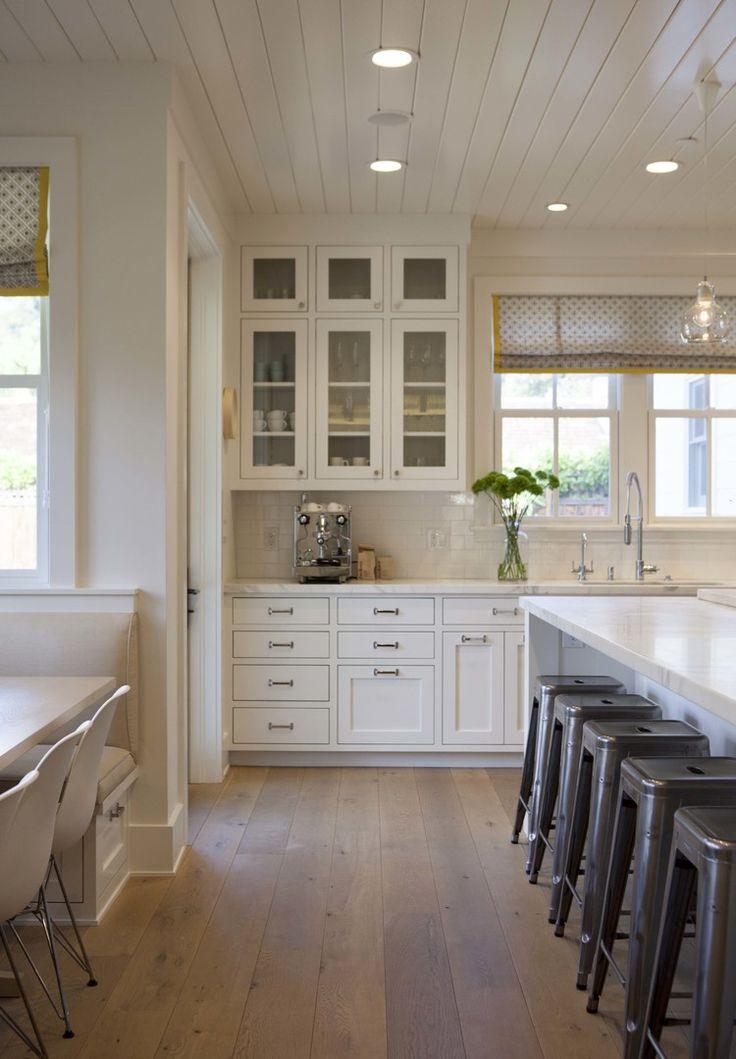 modern farmhouse kitchen 1 kitchens pinterest on farmhouse kitchen flooring id=77696