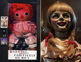 BOneca real e boneca do filme.