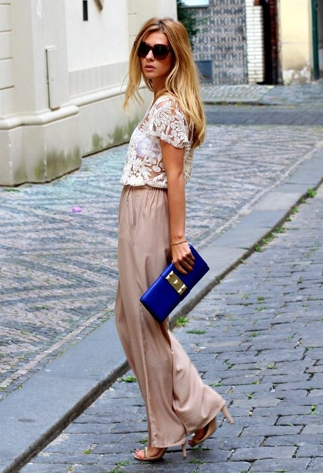 Love the Color Mix & that Lace Top!! You'll wear it 100 different ways