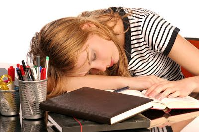 Image result for falling asleep while studying