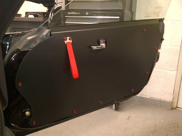 Foamex motorsport track car door card diy with cut