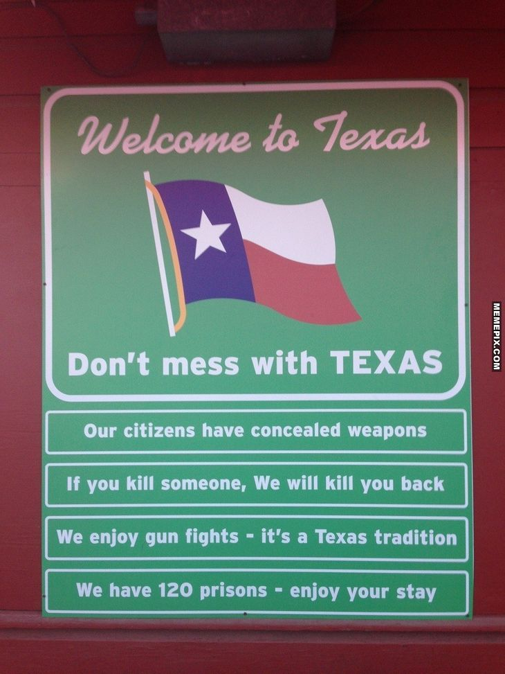 Gotta love Texas!!!!