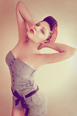 rockabilly pin-up girl inspiration by Carly27