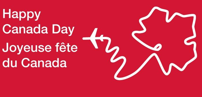 July 1 is Canada Day!