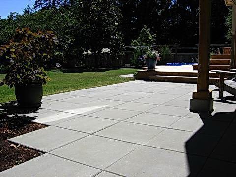 square pavers patio | Backyard, Patio & Deck Ideas | Pinterest on Square Concrete Patio Ideas id=74417
