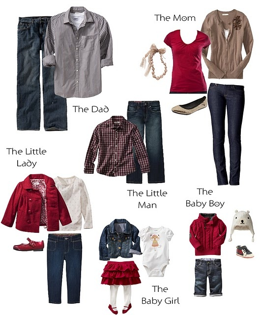 maroon and gray???Holiday Photos - what to wear