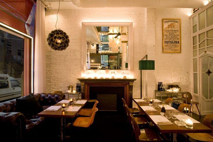 Virlova Interiorismo: [Places] Elclecticismo cálido en el Big Fish Raw-Bar