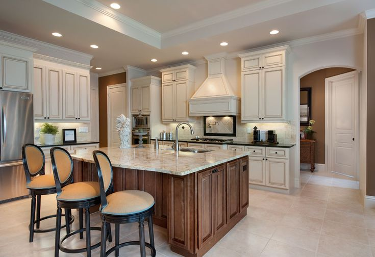 Model Home Photo Gallery   about us   Two Tone Kitchens ... on Model Kitchen Design Images  id=68622